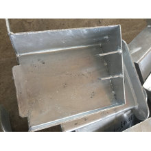 Peças da construção do metal do OEM para a escadaria do externo da construção