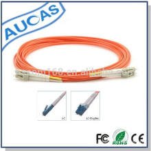 Outdoor impermeável 2 núcleos LC PC Fibra Óptica Connector Patch Cordão MM 62.5 / 125