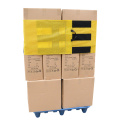 Yellow Mesh Reusable Pallet Wraps With Stretch Film