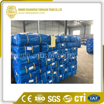 Blue Pe Tarpaulin Packed In Rolls