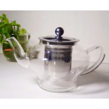 European Import Fashion Design Borosilicate Glass Tea Pot with Filter 800ml