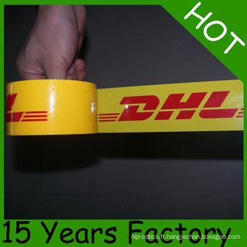 Bande d'emballage de bande d'emballage d'usine d'OEM BOPP 48mmx66m en Europe