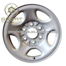 Nouvelle utilité 16x5.5, roue en acier 16x6.5 pour camion