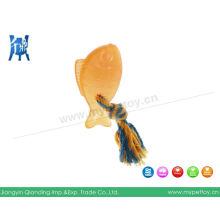 TPR с веревкой жевательная игрушка для домашних животных