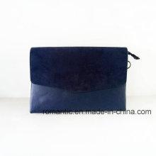 Atacado Mulheres na moda PU Suede Clutch Handbags (NMDK-052202)