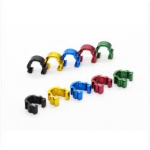 Mountainbike C-Clip Kabelgehäuse Schlauchführung für Fahrrad Hydraulikschlauch Clip 5Color