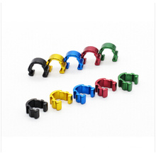 Mountain Bike C-Clip Cable Housing Hose Guide for bicycle Hydraulic Hose Clip 5Color