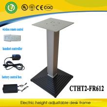 mesa ajustable en altura para exteriores con control remoto de batería, sin cable