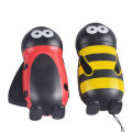 Cute Kid Gift Mini Torch Hand Press LED Animal Dynamo Light