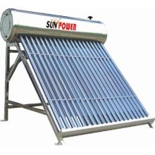 Chauffe-eau solaire sans pression