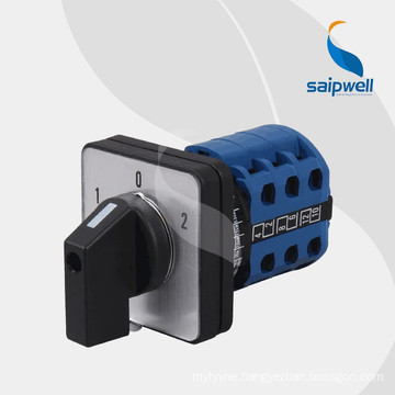 Saipwell high quality 20A 25A 32A 63A 80A 100A On Off Universal Changeover Switch