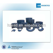 Arc ferrite magnet for motors for sale