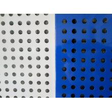 Mallas metálicas perforadas / mallas de perforaciones