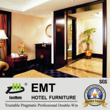 Star Hotel Ornamental Furniture Painéis de parede de madeira (EMT-F1207)