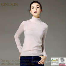 Winter-Pullover, reine Wolle-Pullover Neues Design für Mädchen