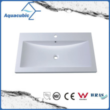 Artificial Marble Single Lever Hand Wash Basin Acb0909