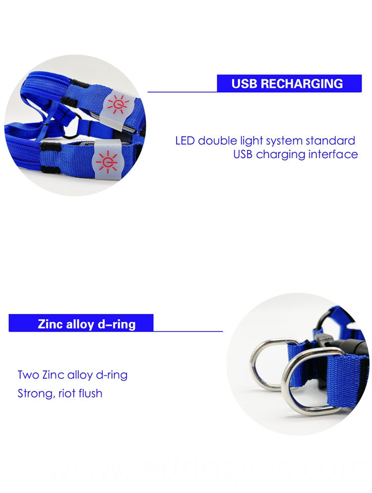 Ultra Brightness Led Dog Harness