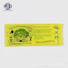 Sacs en plastique de charité de conception adaptée aux besoins du client pour des livres