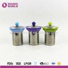 Bequemer wiederverwendbarer entfernbarer stilvoller Ineinander greifen-Tee-Filter / Tee Infuser