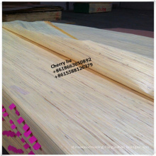 linyi supplier sliced cut 0.3mm white recon face veneer for india