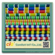 Tissu en polyester revêtu de PVC Tissu Tissu Pare-soleil Auvent