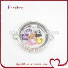 Round shape living locket bracelet wholesale