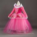 2017 rosa e azul cor Aurora vestido de princesa com preço barato