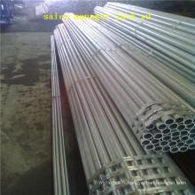SCH40 galvanisé à chaud / GI tuyau / ASTM a106 grade b sans soudure en acier au carbone tuyau