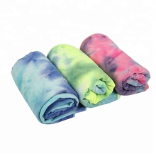 China for Ordinary Warp Knitted Microfiber Towel Eco Friendly Anti Slip Yoga Towel export to Argentina Supplier