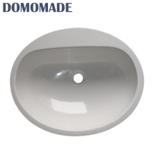 Small size acrylic round sanitary ware toilet bathroom basin stone basins wash sink