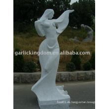 Lovely Girl Stone Carving