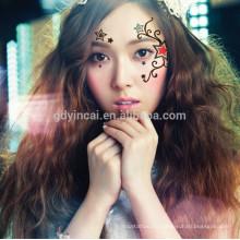 Cool Sexy Style Skin Care Safe Face Sticker tatuaje de papel