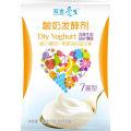 Probiótico saludable con yogurt