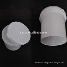 Cubo plástico grande del tamaño para el uso industrial botella de 1L 1.7L PP para las botellas grandes del stoage de la crema de la colada de la mano al por mayor