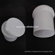Big size plastic bucket for industrial use 1L 1.7L PP bottle for hand wash cream big stoage bottles wholesale