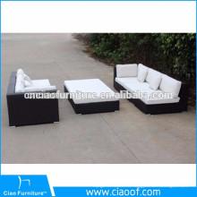 Секционная мебель из ротанга сад диван комплект