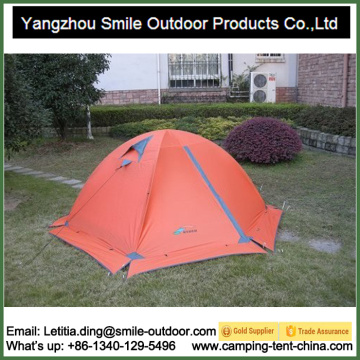 2 Person Double Layer Mountain Hiking Camping Dome Tent
