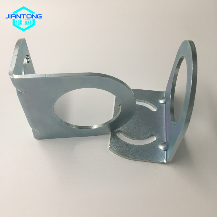 factory supply metal fabrication stamped steel brackets (2)