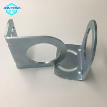 Chapa de zinco chapeado personalizado dobra peças estampadas