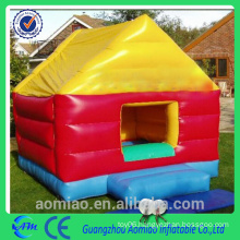 colorful shaped bouncers, inflatable trampoline for kids