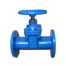 Solid DIN 3202-F5 Gate Valve, with Brass Wedge Nut