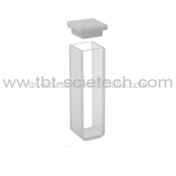 Q-103 Optical Glass Economic Standard cuvettes with lid and with round bottom