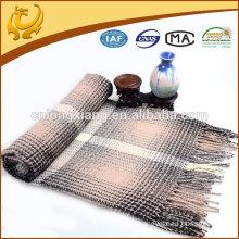 Wholesale Custom Fashion Jacquard Acrylic Throw Blanket