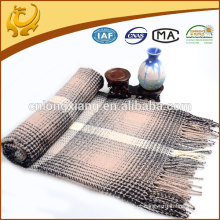 Atacado Custom Fashion Jacquard Acrylic Throw Blanket