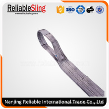 Synthetischer Riemen / gewebte Riemen / Polyester-Gurtband-Riemen / anhebende Riemen mit dem anhebenden Auge / Gurtband, Ce, GS bescheinigt