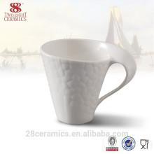 cheap plain ceramic white coffee mug /bulk white coffee cup