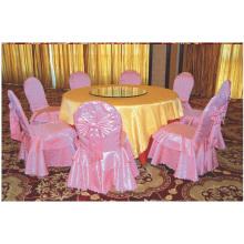 Mesa banquete com capa