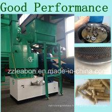 Machines de granulés en bois de 1t / H en bois avec pièces de rechange de bonne performance