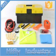 HF-4032 Venda Quente Kit De Emergência Do Carro Ao Ar Livre Ferramenta de Sobrevivência de Emergência Ferramentas de Segurança Kits de Reparo Do Carro (certificados do CE)