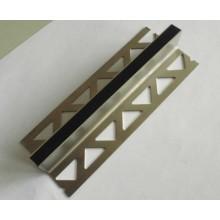 Perfil do movimento do aço inoxidável para mármore